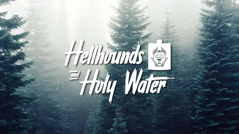 Logo: Hellhounds & Holy Water