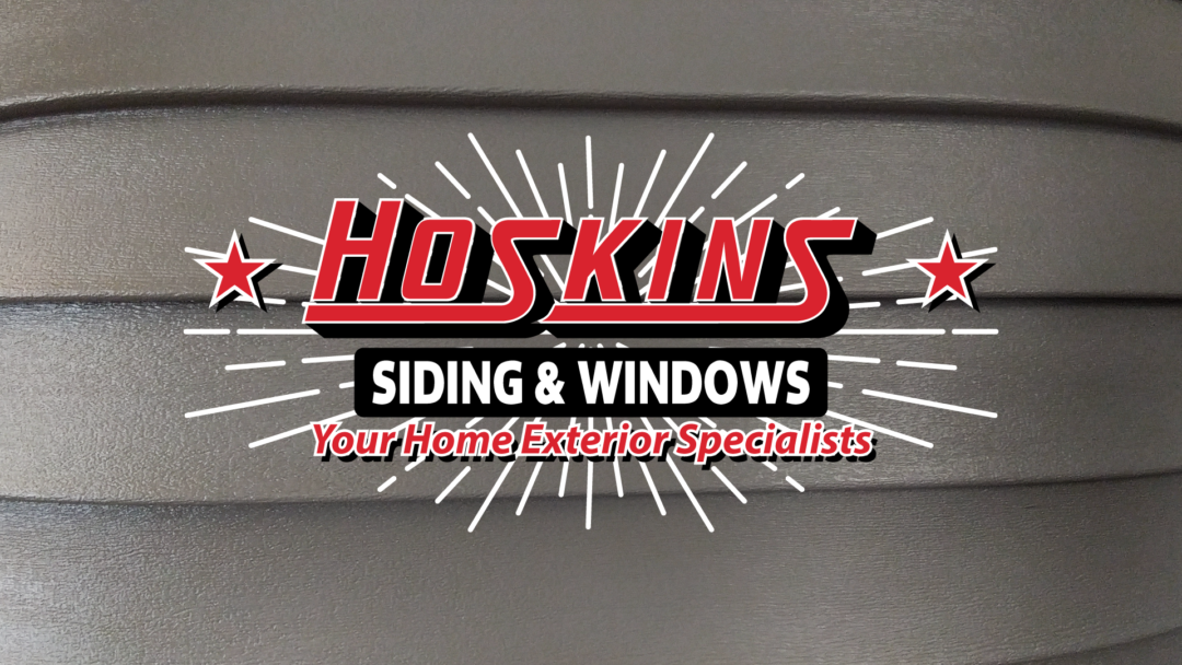 SRS Portfolio - Logos: Hoskins Siding & Windows