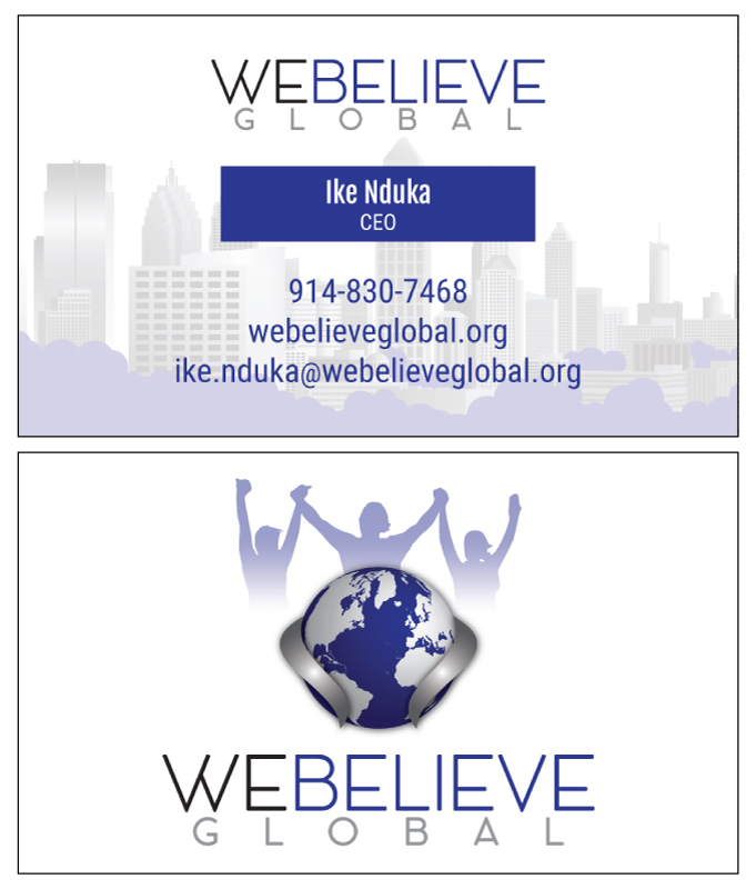 Business Card: We Believe Global