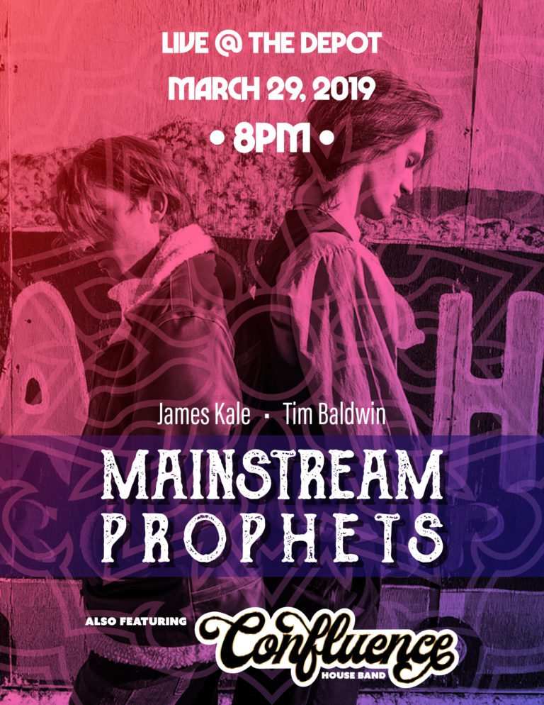 Flyer: Mainstream Prophets : w/ CMC